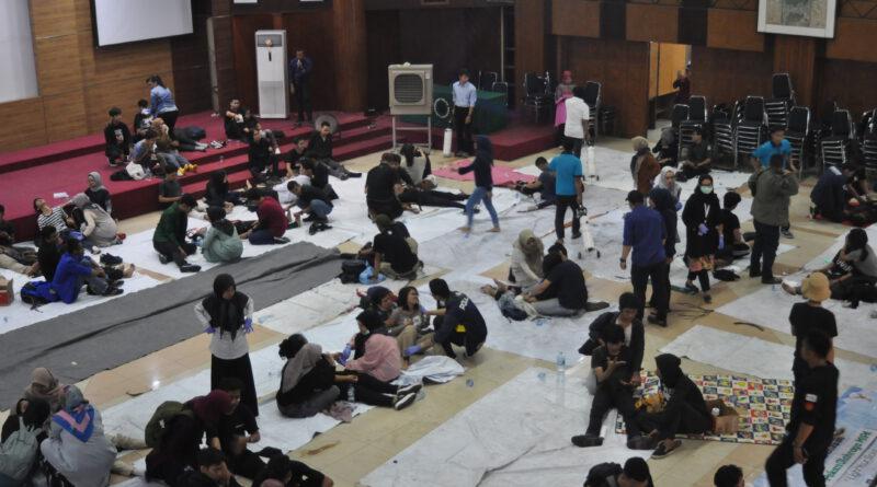 115 Orang Korban Aksi Massa Dievakuasi ke Unisba