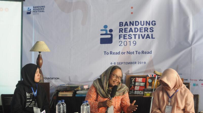 Gelaran Hari ketiga Bandung Readers Festival Mengusung Topik Hak Baca Bagi Penyandang Disabilitas