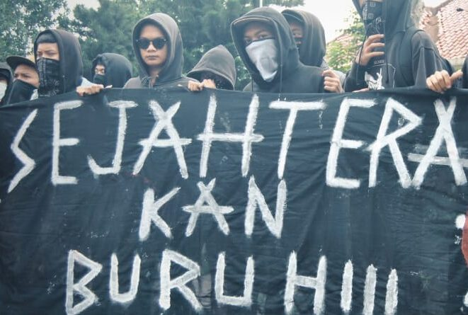Peringatan May Day Dihimpit Omnibus Law dan Pandemi