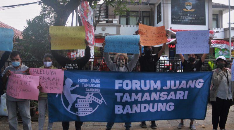Forum Juang Tamansari Bandung Tuntut Hilangnya Administrasi Warga
