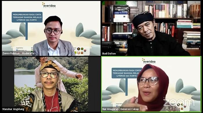 Meningkatkan Pemahaman Budaya dan Literasi, Melalui Acara Evertalks ke-9