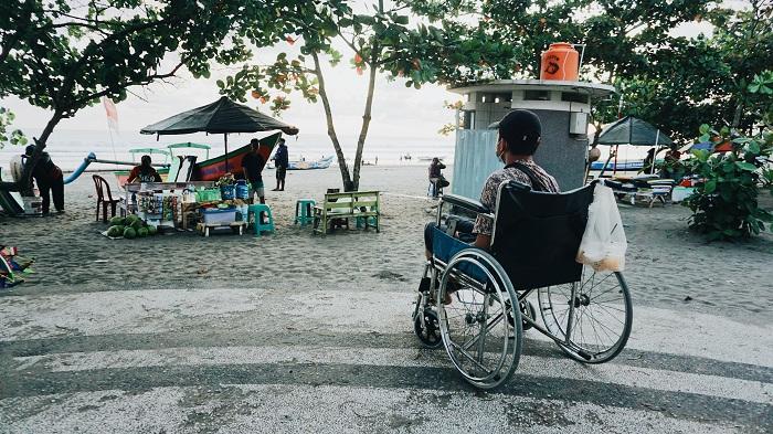 Pangandaran Masih Belum Ramah Terhadap Penyandang Disabilitas